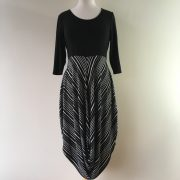 Chalet stripe dress