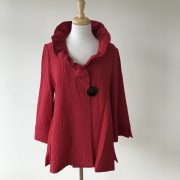 Wire Collar Jacket Scarlet 1