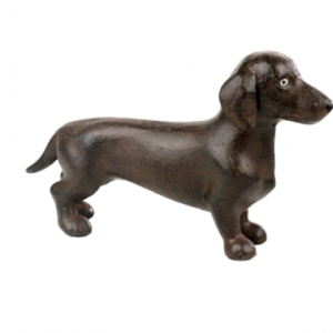 Cast Iron Dachshund
